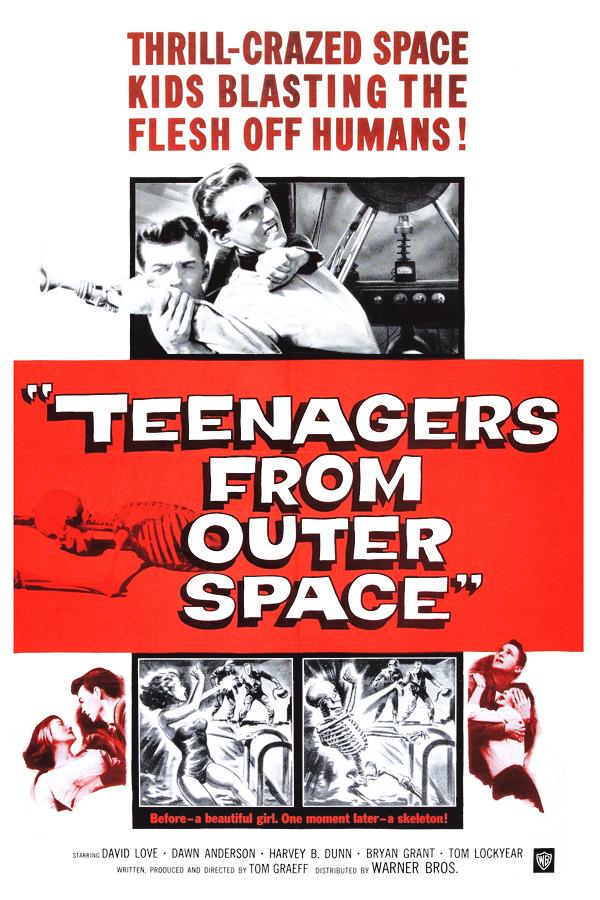 Adolescentes del espacio exterior