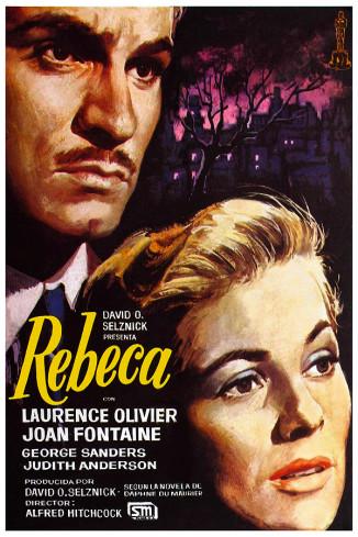 Poster película Rebeca